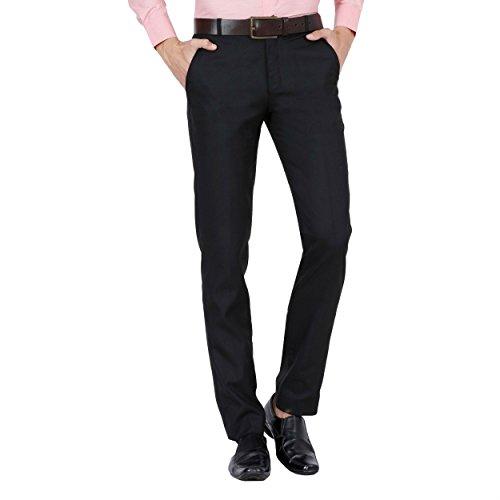 Fashion Freak Mens Formal Pant (Black - Trouser) (34)