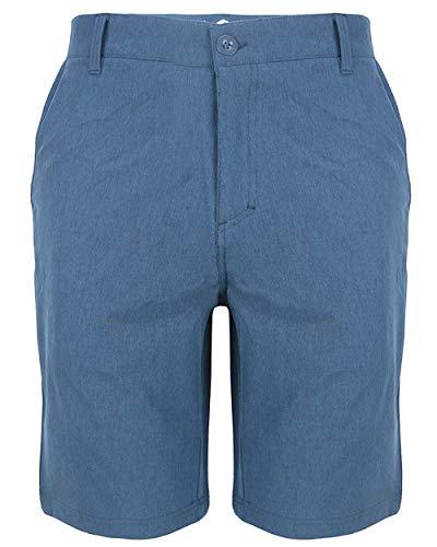 Evrimas Amphibian Hybrid-Shorts für Herren, Chino/Golf, sportlich, schnelltrocknend, 53,3 cm, Schwarz - Mehrfarbig - 52 -