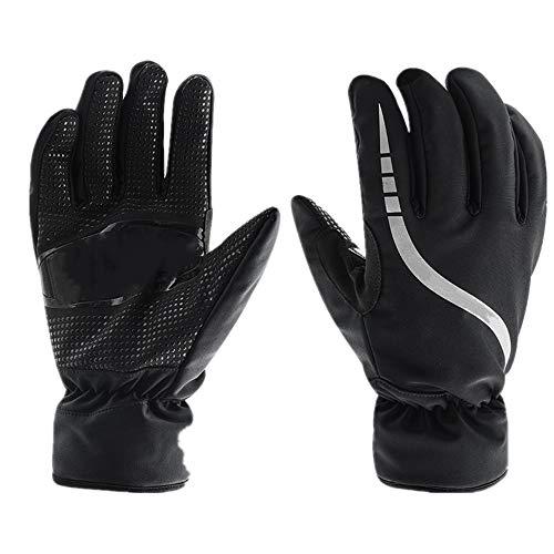 Skihandschuhe Unisex Ski Handschuhe Winter Skifahren Fäustlinge Winddichtes Tuch Reflektierende Streifen for Snowboarding Radfahren Reiten oder Fahren Rennen Sport im Freien Warme Schneehandschuhe für