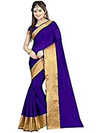 Shailaja Sarees Women's Cotton Silk Saree With Blouse Piece (Sss1141Zze,Multicolor,Free Size)