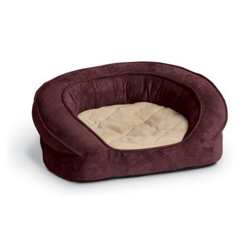 K&H Pet Products Deluxe Ortho Haustierbett, mit Pfotenabdruckmotiv, groß, 101,6 cm -