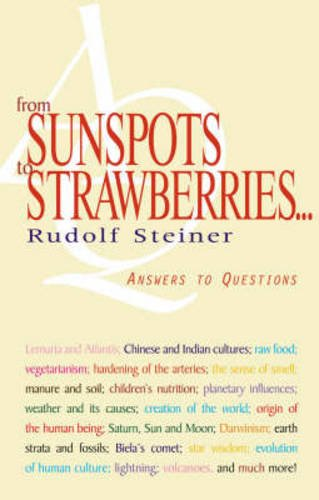 From Sunspots to Strawberries: Answers to Questions por Rudolf Steiner