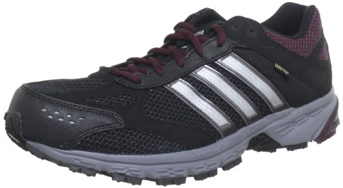adidas Performance runtikon tr gtx w G60989, Damen Laufschuhe, Schwarz (BLACK 1/MATTE SILVER/DARK BURGUNDY F12), EU 38 2/3 (UK 5.5)