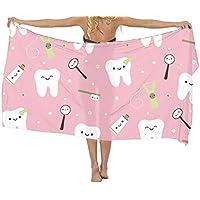 BesArts - Vestido de baño para Mujer con pañuelo de Seda, para Cubrir la Pasta