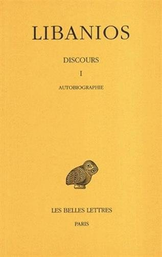 Discours, tome 1. autobiographie, discours I