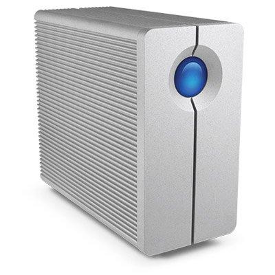 LACIE 2big Quadra 12TB FireWire800 USB3.0 7200rpm 8,9cm 3,5Zoll 2-Bay RAID array 2 hot swappable dri