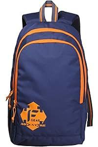 F Gear 20 Ltrs Orange Casual Backpack (2181)