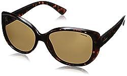 Polaroid Polarized Cat Eye Womens Sunglasses - (PLD 4031/S Q3V 58IG|58|Brown Color)