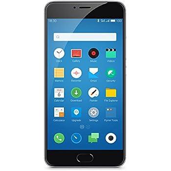 "Meizu M3 Note - Smartphone libre Android (4G, pantalla 5.5"", cámara 13 MP, 3 GB RAM, 32 GB), color gris"