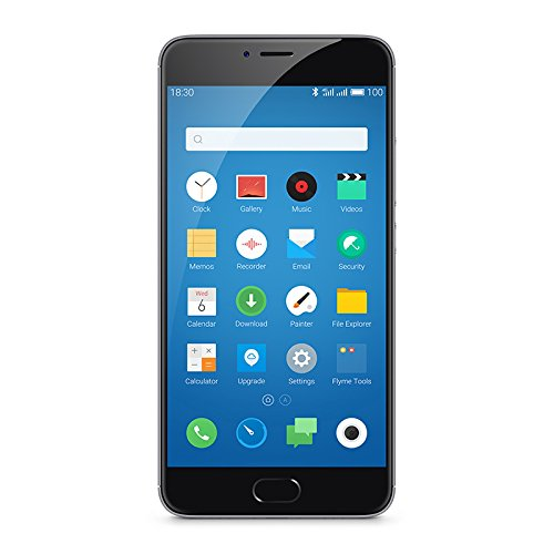"Meizu M3 Note - Smartphone libre Android (5.5"", 13 MP, 2 GB RAM, 16 GB, 4G), color negro"