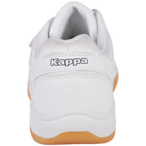 Kappa Caber Calzature Adolescenza Sintetico / Mesh Unisex-erwachsene Sneakers Weiß (1060 Bianco / Blu)