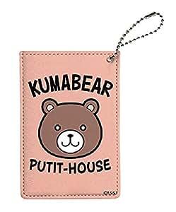 Food Wars! Shokugeki No Soma 08 Satoshi Apron Design Kuma Bear Pass Case 50831