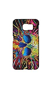 Multicolor Skull Mobile Back Cover/Case For Samsung Galaxy S6