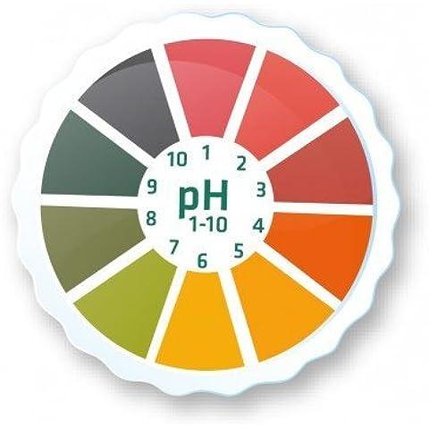 AlkalineCare 5M pH carta rotolo tornasole carta striscia Roll ad alta precisione PH indicatore strisce per Urine Saliva alcalina cura