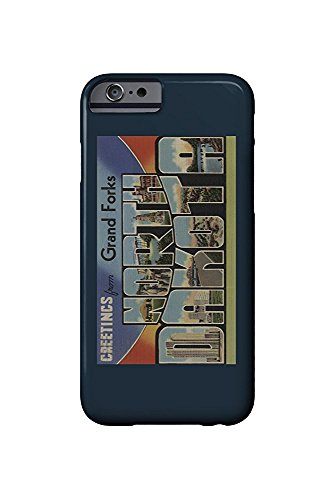 Greetings from Grand Forks, North Dakota (iPhone 6 Cell Phone Case, Slim Barely There) -