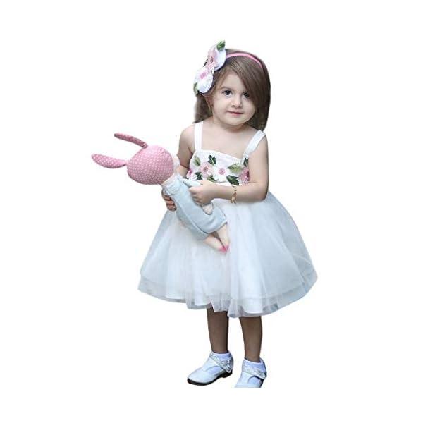 HEETEY - Vestido - para bebé niña 3