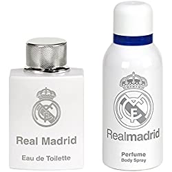 Real Madrid Set Perfume y Spray de Cuerpo - 1 pack