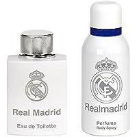 Real Madrid Set Perfume Hombre y Spray de Cuerp - 1 pack.