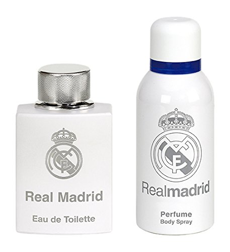 Real Madrid Set Perfume Hombre y Spray de Cuerp - 1 pack.