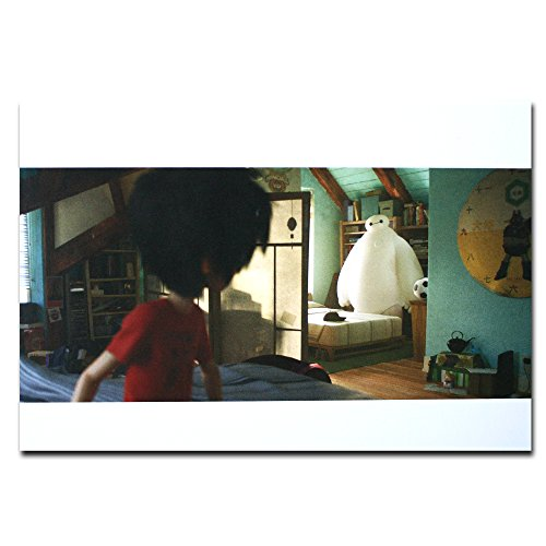 Big Hero 6 Disney Film Gerahmte Originalpostkarte Baymax And Hiro Funny Gift Rahmen