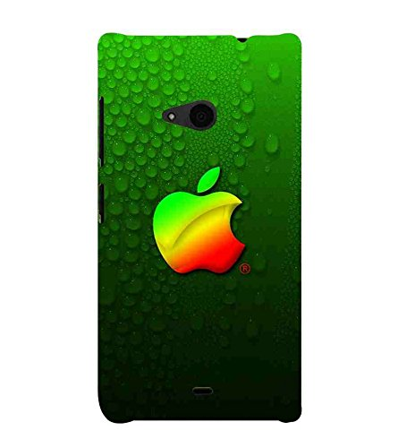 For Microsoft Lumia 535 :: Microsoft Lumia 535 Dual SIM :: Nokia Lumia 535 green wallpaper, icon, Designer Printed High Quality Smooth Matte Protective Mobile Case Back Pouch Cover by Paresha  available at amazon for Rs.399