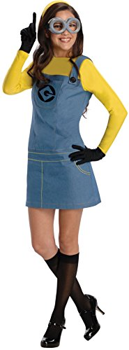 Rubie's Women's Female Minion Fancy Dress Costume Small