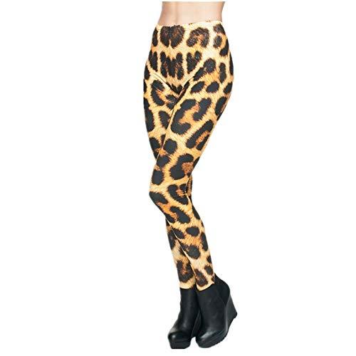 PFJWFE Moda impresión 3D Leopardo Mujeres Leggings Verano Jeggings Pantalones Leggins Sexy Gimnasio Legging Punk Rock calzas Mujer Legins niñas
