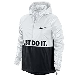 nike city packable veste pour femme s blanc noir sports et loisirs. Black Bedroom Furniture Sets. Home Design Ideas