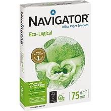 Navigator 444762 - Fogli per fotocopiatrice, A3, pacchetto di 500 fogli, 75 gr.