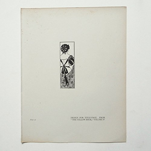 aubrey-beardsley-antique-print-design-for-title-page-from-the-yellow-book-volume-4