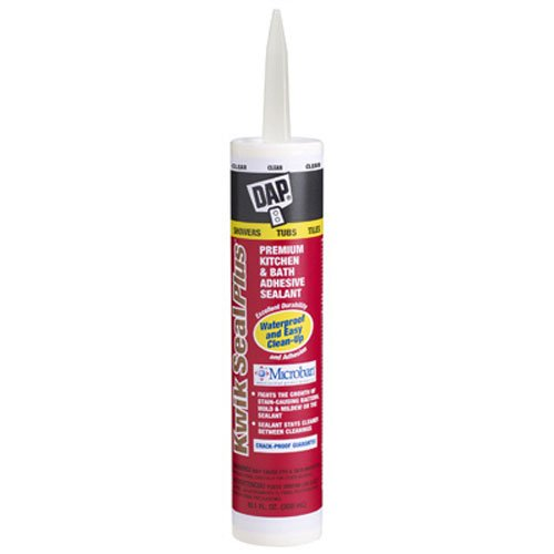 dap-18516-dap-kwik-seal-plus-premium-kitchen-and-bath-adhesive-caulk-clear-101-ounce-by-dap