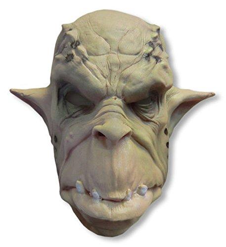 (Ork Maske aus Schaumlatex für Fantasy & Horror Fans)