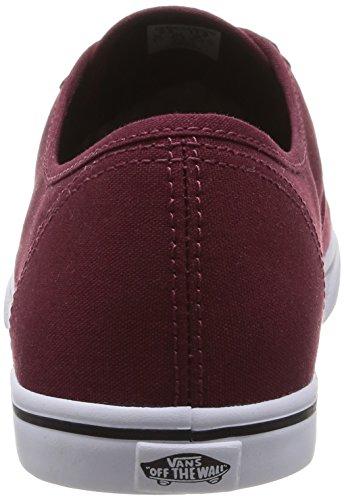 Vans U Authentic Lo Pro - Baskets Mode Mixte Adulte Rouge (Tawny Port/True White)