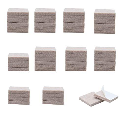 ZCHXD 50pcs Furniture Pads Square 1 1/8