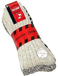 ABS Socken Antirutsch Socken Noppensocken Stoppersocken Damen Herren 2 Paar, 35-38 39-42 43-46