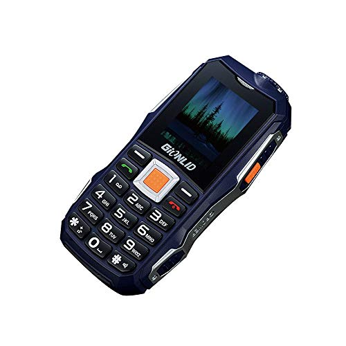 Nourich Unlocked GSM-Mobiltelefon, [12000mAh] EnglishDual-Taschenlampe, Dual-SIM-Mobiltelefon für den Außeneinsatz [Standby-Zeit 420 Stunden] für Alter Mann (Unlocked Neue Gsm-smartphones)