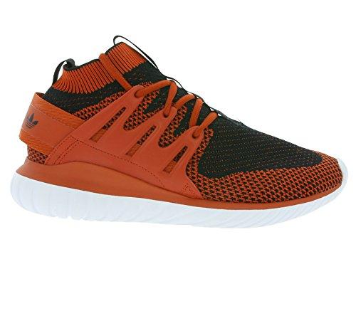 adidas Tubular Nova Primeknit Craft Chili Black White Rouge
