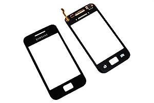 Samsung GT S5830 Galaxy Ace Touch Screen Display Glas Front Scheibe Original Neu Black