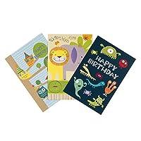Hallmark 20.1 cm X 13.7 cm X 0.2 cm Simply For You Birthday Card Bundle, Pack of Six