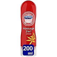 Durex Play Massage 2 en 1 Lubricante - 200 ml, Sensual