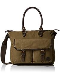 Timberland Herren Tb0m5420 Handtaschen, Olive (Forest Night), 12x33x41 cm EU