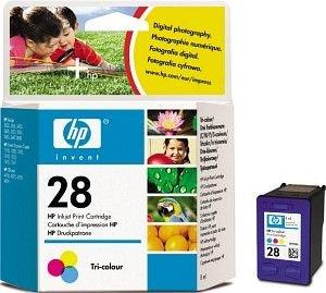 Preisvergleich Produktbild HP 28–Druckerpatrone–1x Farbe (cyan, magenta, gelb)–190Seiten