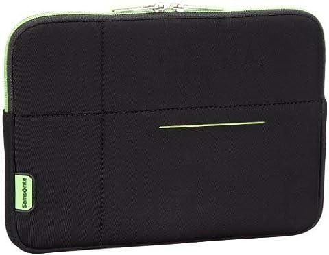 "Samsonite Airglow Sleeves Laptop Sleeve 15.6"", Pochette - Noir/vert"