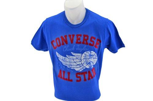 Converse Chuck Taylor T-shirt Neu Herren Swear königlich