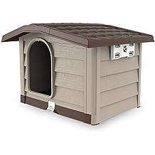 Bama Caseta para Perro, Estilo bungaló