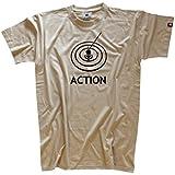Shirtzshop Herren T-shirt Action Angeln Angler Angel