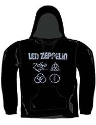 Bravado - Sweat-shirt à capuche - Sweat à capuche - Uni - Col Rond - Homme Noir Noir