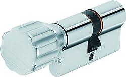 ABUS Profil-Zylinder KD6XNP 30/30 mit Codekarte und 5 Schlüsseln, 50716