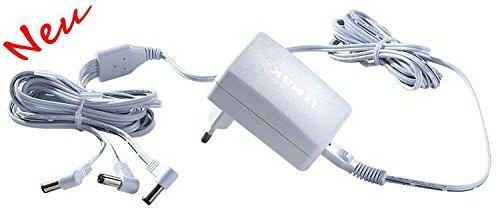 Lemax Zubehör - Power Adapter 4,5V - 3 Anschlussmöglichkeiten - Mit EU Stecker -
