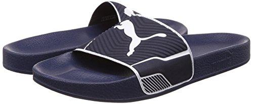 Pantofole Puma Leadcat pantofole 7-14 UK - blu marina / bianco o nero / bianco blue - dark blue